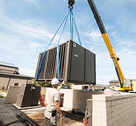 Featured Pic Rooftop HVAC Installation