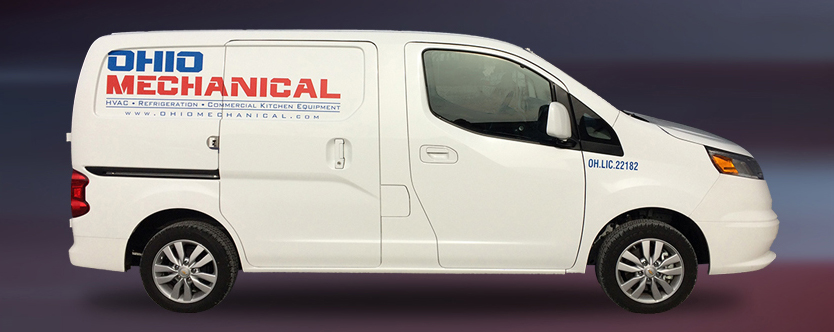 Ohio Mechanical Service Call Van