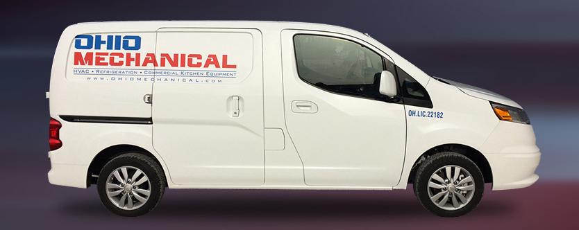 Ohio Mechanical Service Call Van